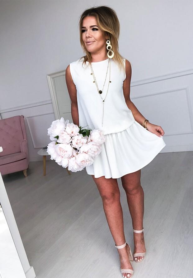 Sukienka Layla Ecru