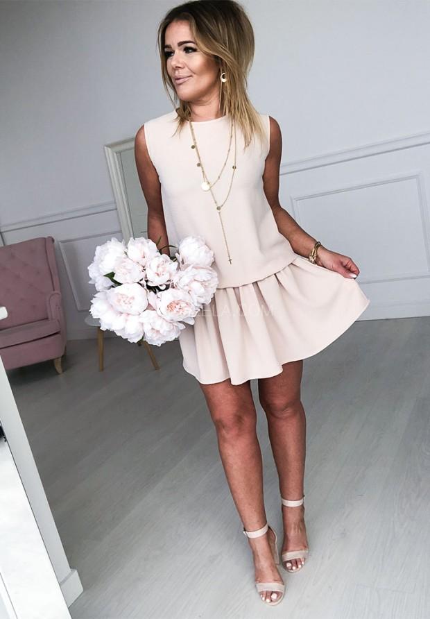 Sukienka Layla Nude