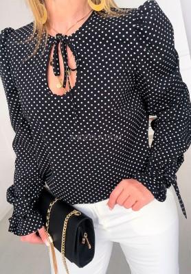 Bluzka Koszula Luiza Groszki