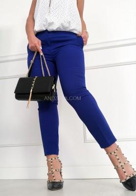 Spodnie Cygaretki Premium Kobalt