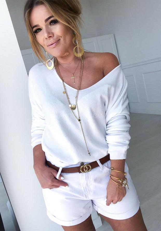 Sweter Parma Biały