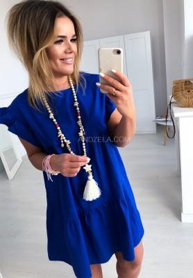Sukienka Carpetti Kobalt