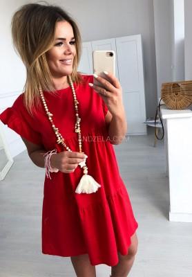Sukienka Carpetti Czerwona