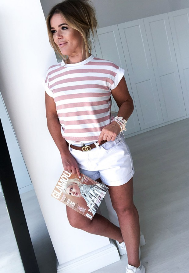 T-shirt Strap Puder