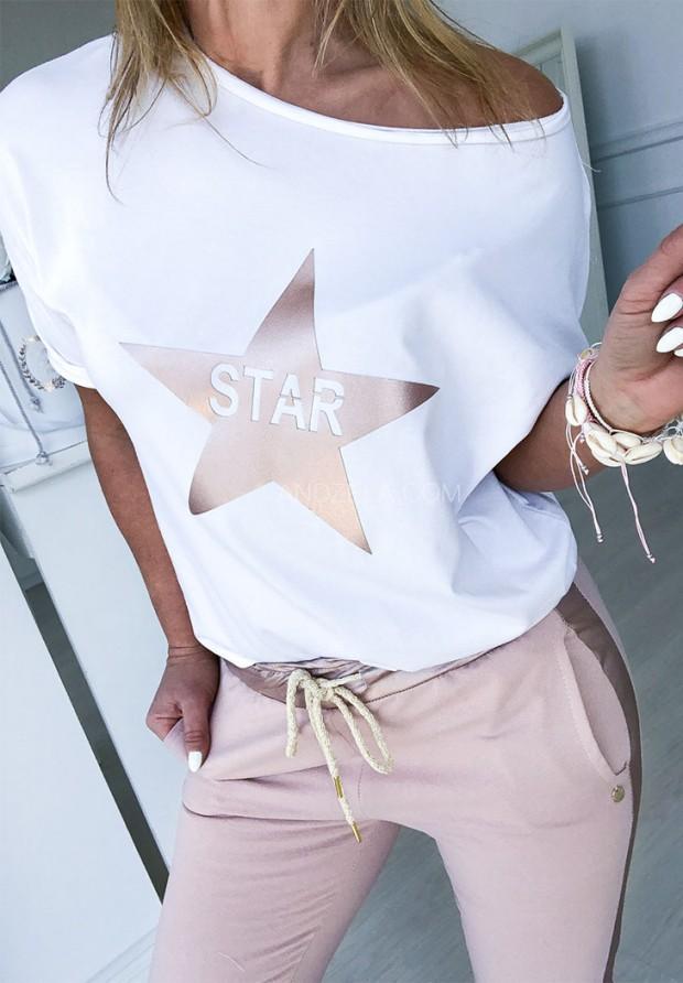 Bluzka Star Puder