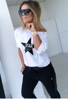 Bluzka Star Czarna