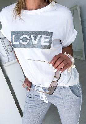 Bluzka Love Grey
