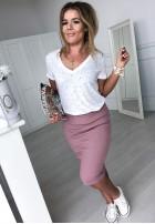 Spódnica Slim Skirt Puder