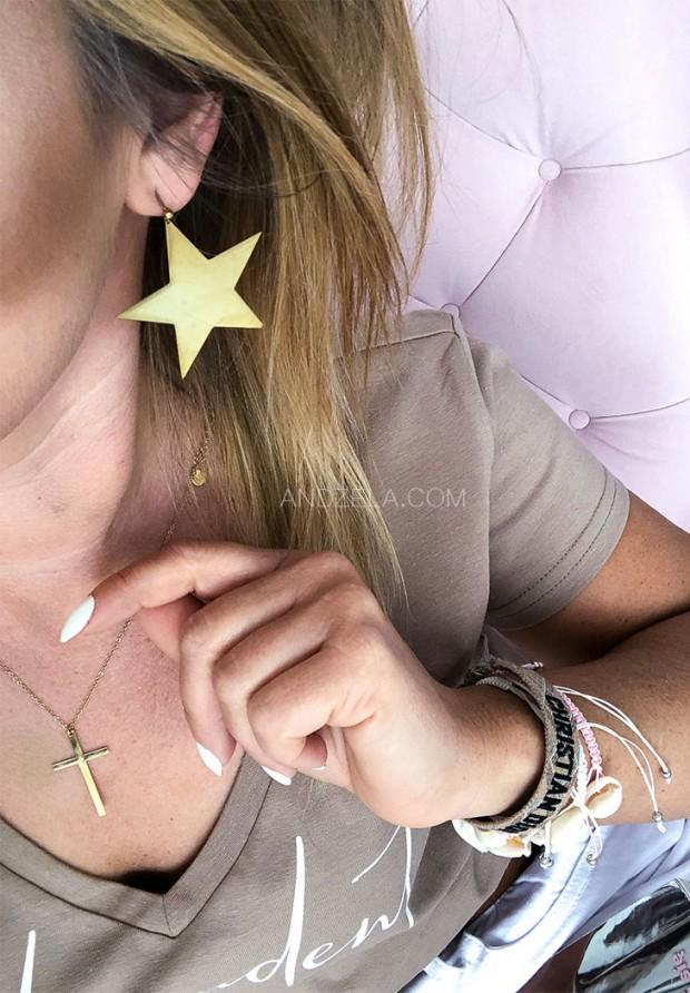 Серьги Stars