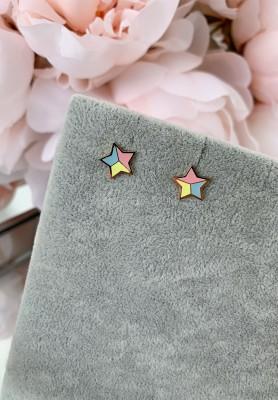 Kolczyki Small Color Stars