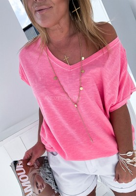 T-shirt Vegas Pink
