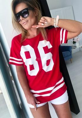 T-shirt 86 Czerwony