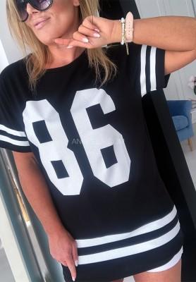 T-shirt 86 Czarny