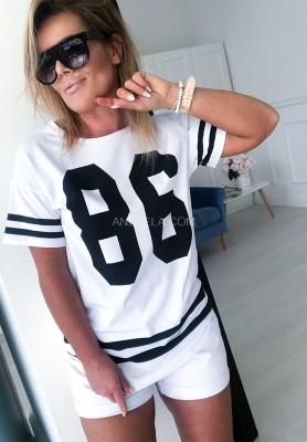 T-shirt 86 Biały