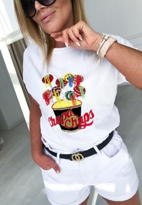 T-shirt Chupa Chups White