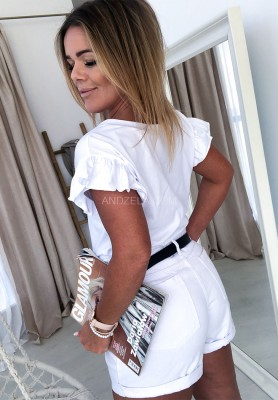 T-shirt Week Biały