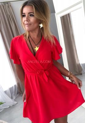 Sukienka Italiana Czerwona
