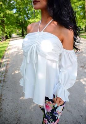 Bluzka Lucila White