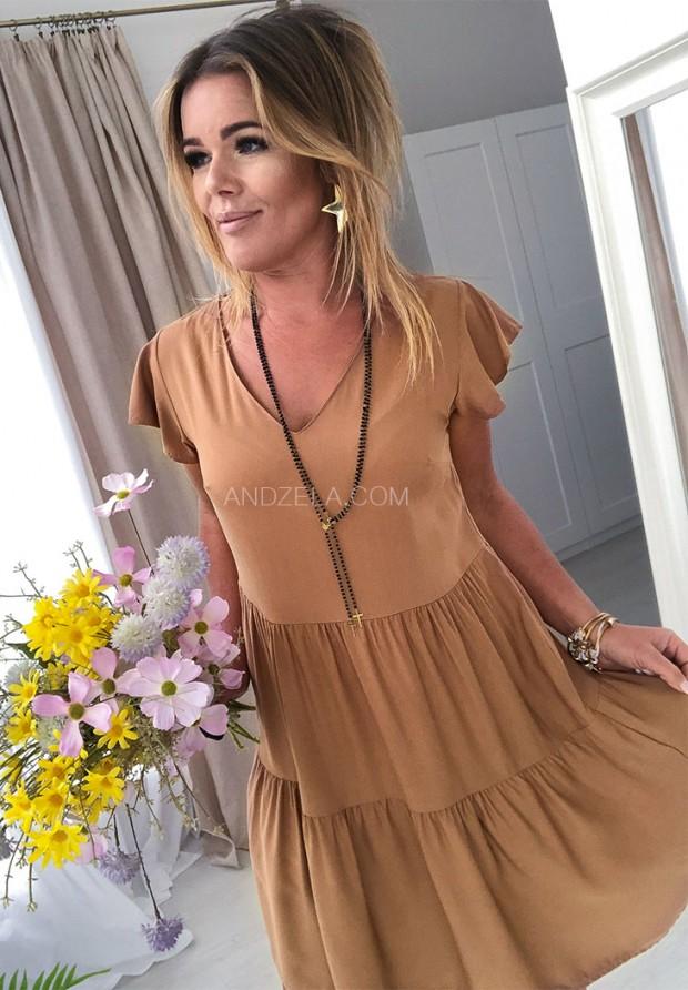 Платье Maomma Camel