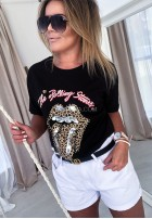 T-shirt Rolling Stones Black