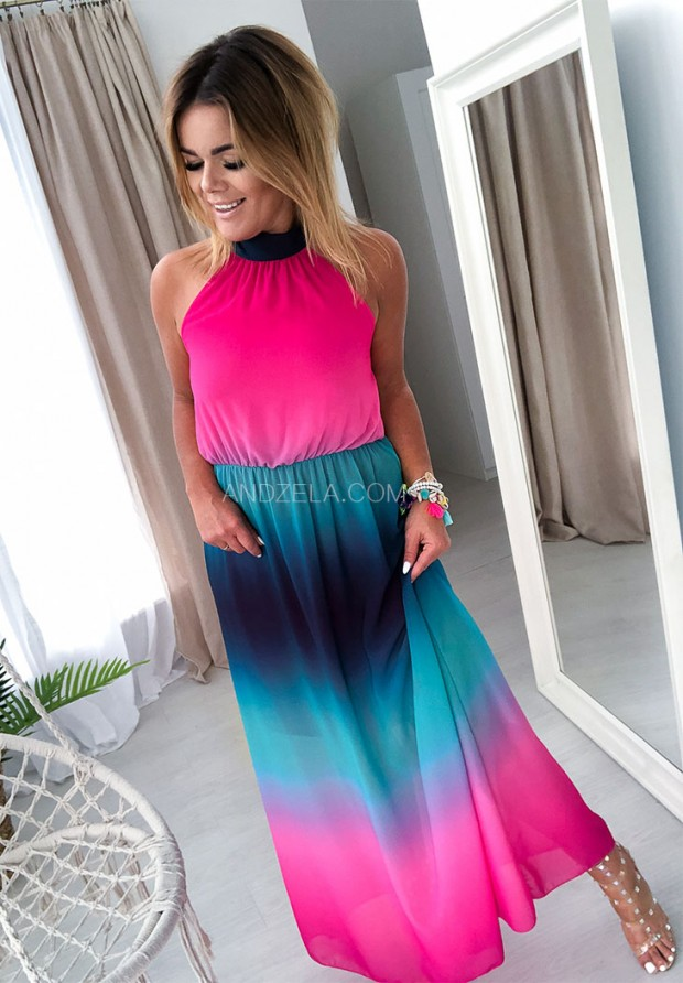 Платье  Maxi Halter