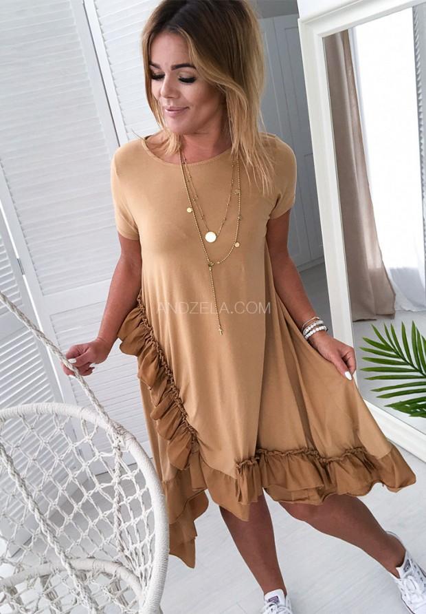 Платье  Delagos Camel