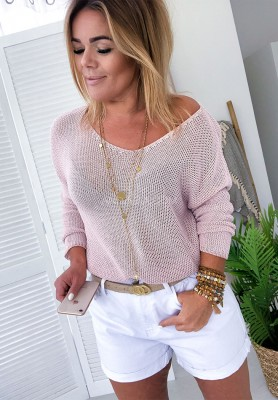 Sweter Rust Puder