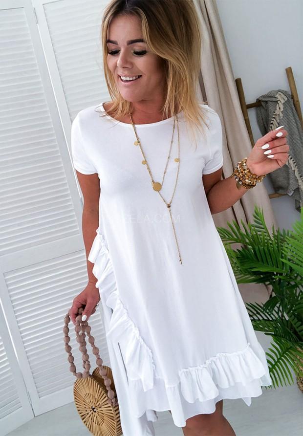 Платье Delagos White
