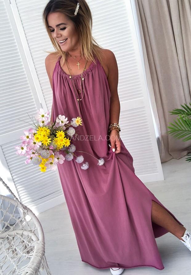 Платье Maxi Lia Blueberry