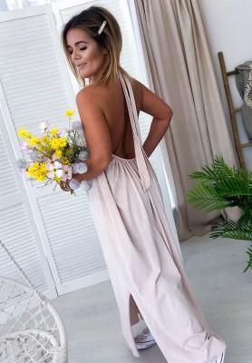 Sukienka Maxi Lia Nude
