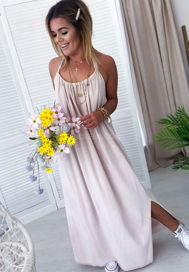 Платье Maxi Lia Nude