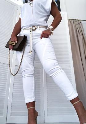 Spodnie Edith White