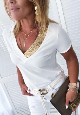 T-shirt Novella Ecru