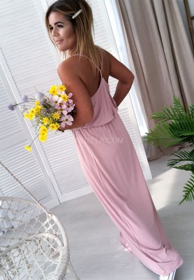 Sukienka Maxi Madera Puder