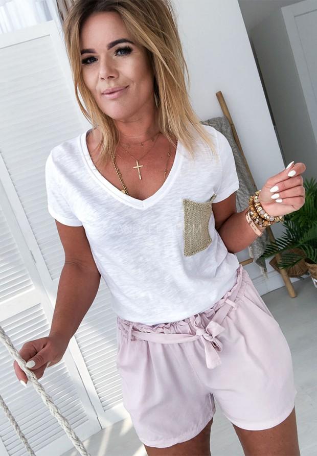Блузка Gold Pocket Biała