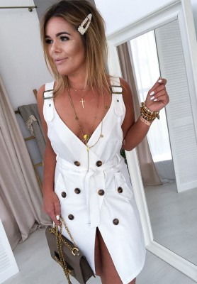 Sukienka Shanti White