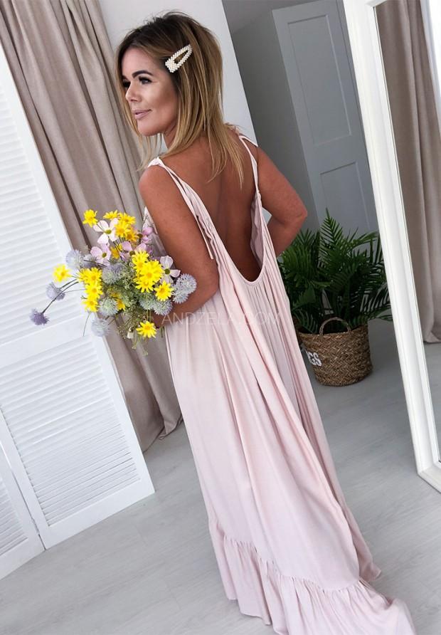 Платье Maxi Montana Nude