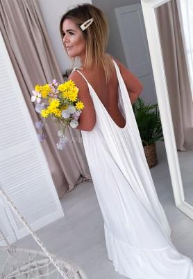 Sukienka Maxi Montana Ecru