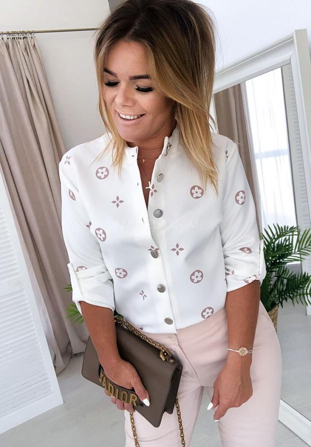 Рубашка Loui Ecru