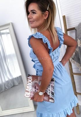 Sukienka Pin Up Girl Blue