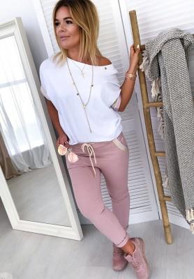 Spodnie Ally Puder