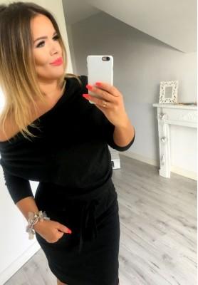 Sukienka Silvia Czarna