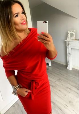 Sukienka Silvia Czerwona