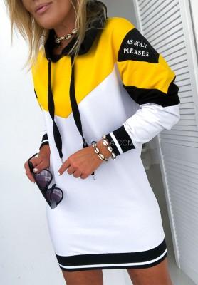 Sukienka Tunika Please Yellow