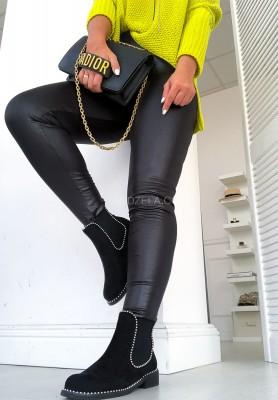 Spodnie Woskowane Verge Black