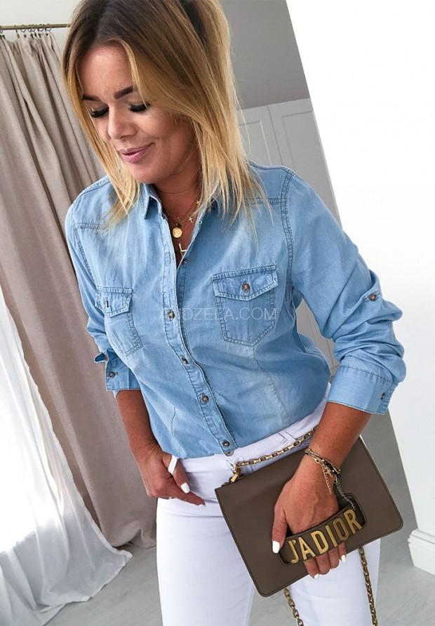 Рубашка Jeans La Bella