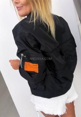 Kurtka Bomber Jacket Black