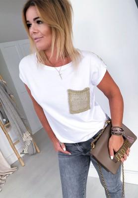 T-shirt Bardot White