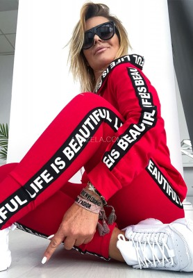 Bluza Beautiful Red