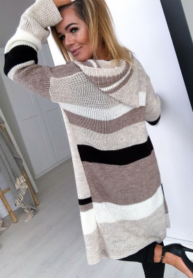 Sweter Kardigan Toned